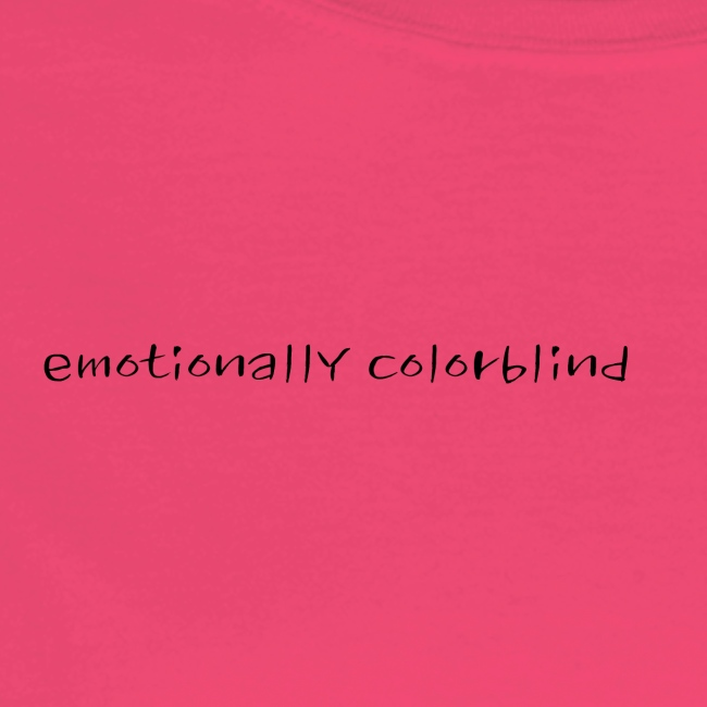 emotionally colorblind