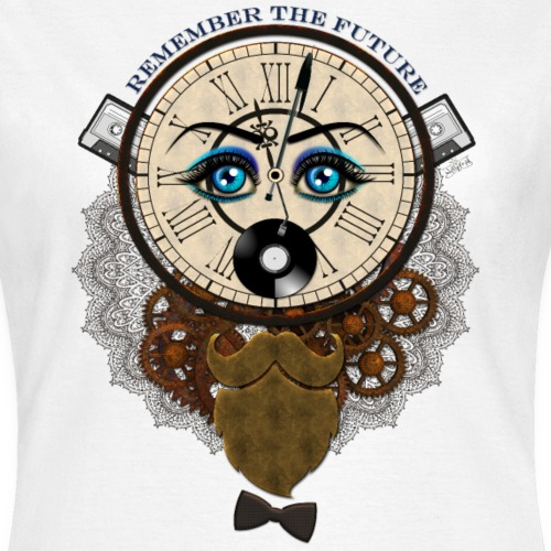 Remember the future -by- T-shirt chic et choc - T-shirt Femme