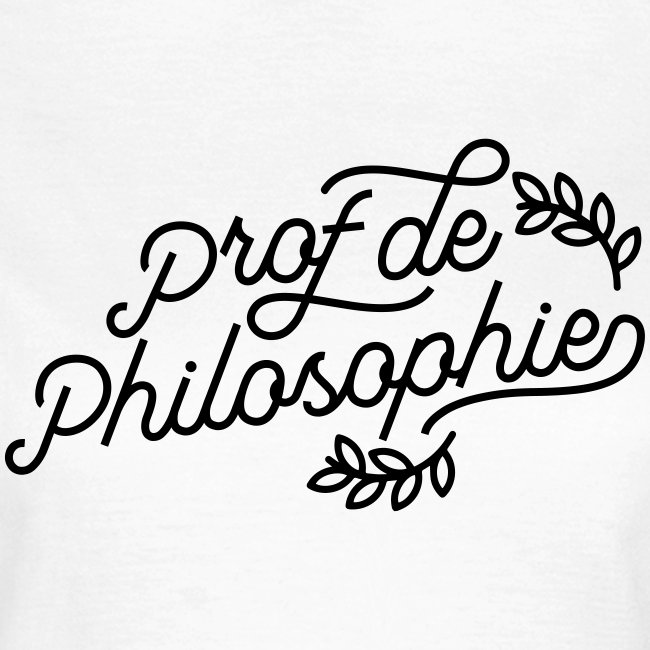 Professeur de philosophie