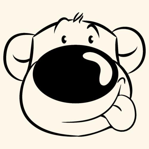 Bär streckt die Zunge raus - Frauen T-Shirt