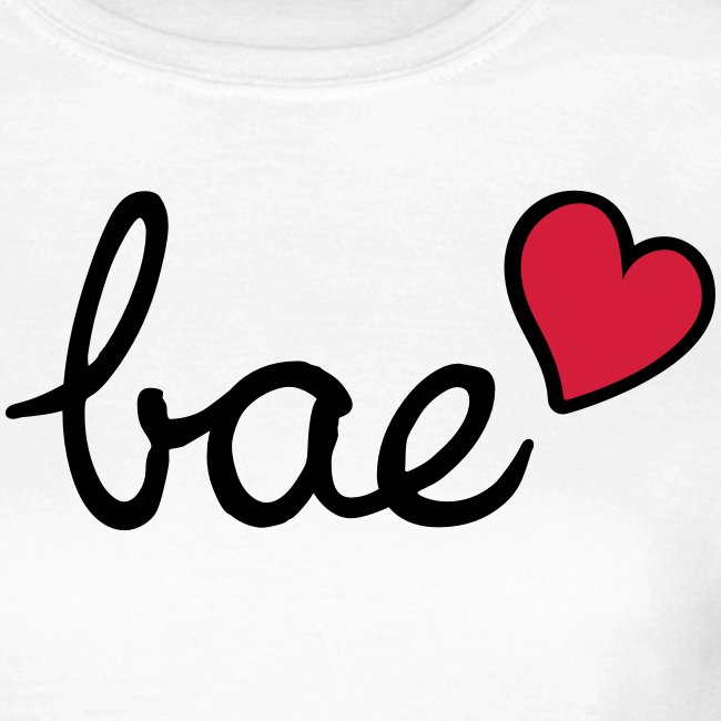 Bae & red heart