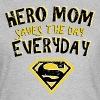 Superman Super Hero Mom - Vrouwen T-shirt