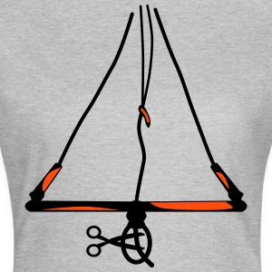Cut off my chicken .... Kitesurfing Bar - Women's T-Shirt