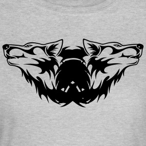 Double-Wolf Logo - Women's T-Shirt