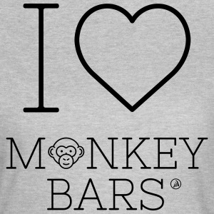 I Love Monkey Bars - Dame-T-shirt