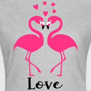 Flamingo love - Women's T-Shirt