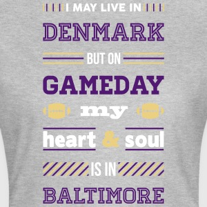 I may live in Denmark... (Baltimore edition) - Dame-T-shirt