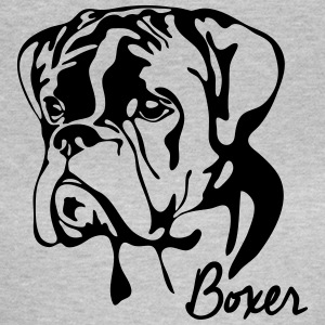 BOXER PORTRET - Vrouwen T-shirt