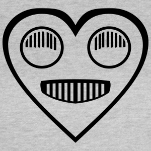 Automotive Love - Heart forlygte øjne - Dame-T-shirt