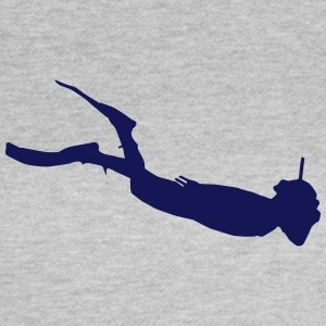 water sport silhouette 3 - Women's T-Shirt