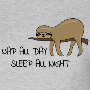 sloth Napping - T-shirt dam