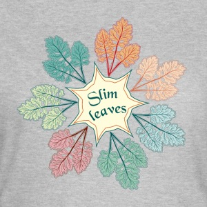 Slim leaves - Women's T-Shirt