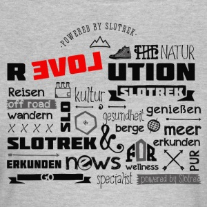 slovenia travel slotrek revolution typo explore - Women's T-Shirt