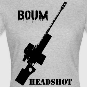 Boom Headshot Sniper - Women's T-Shirt