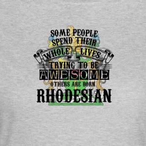 Rhodesian Awesome - Dame-T-shirt