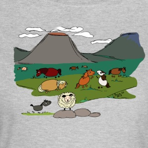 Grettir and his family - Women's T-Shirt