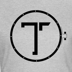 TK_Logo BLACK - Frauen T-Shirt