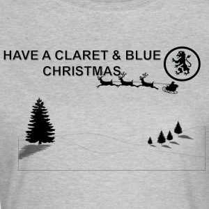 Claret and Blue Xmas - T-shirt Femme