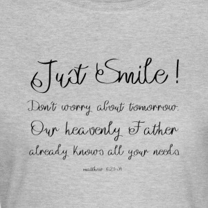 Just Smile! - T-shirt dam