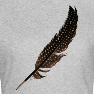 Guinée Fowl Feather - T-shirt Femme
