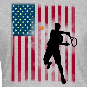 star tennis us open America flagg tibreak Player - Women's T-Shirt