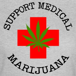 Medical Marijuana Unterstützung Legalize It - Frauen T-Shirt