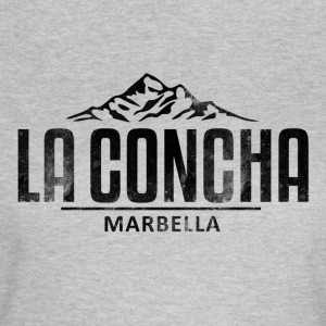 La Concha Faded Black Vintage Logo - Women's T-Shirt