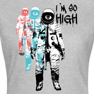 Hög kosmonaut Flight Travel Trip - T-shirt dam