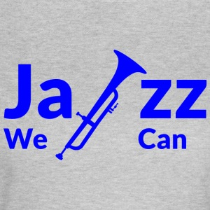JAZZ we can - blue - Women's T-Shirt
