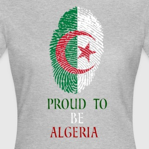 Proud to be Algeria fingerprint - Women's T-Shirt