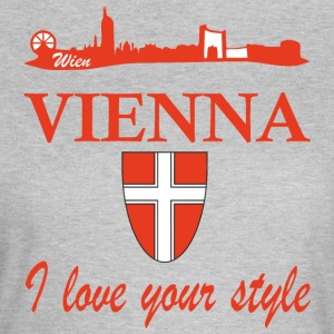 Vienna I love your style - Frauen T-Shirt