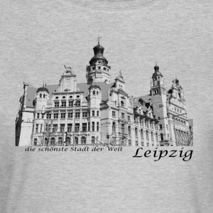 Leipzig City Hall med signatur - T-skjorte for kvinner