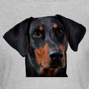 Doberman Pinscher - T-skjorte for kvinner