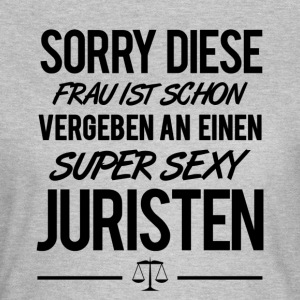 SUPER SEXY JURISTEN - Frauen T-Shirt