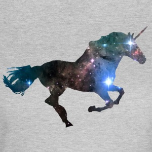 Unicorn Space - Dame-T-shirt