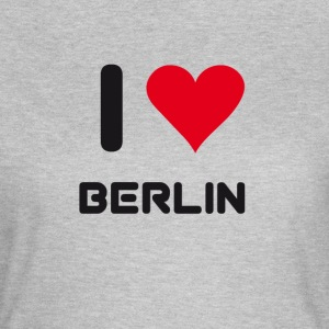I love berlin heart Germany City love holidays B - Women's T-Shirt