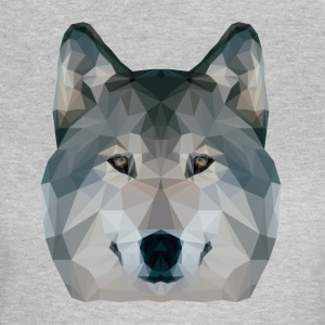Loup Low Poly - T-shirt Femme