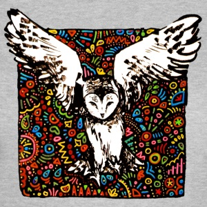 tribal owl - Frauen T-Shirt
