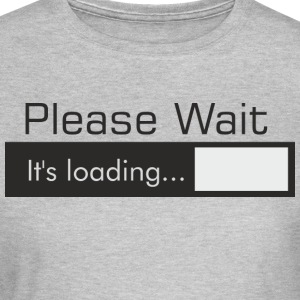 PLEASE_WAIT - Vrouwen T-shirt
