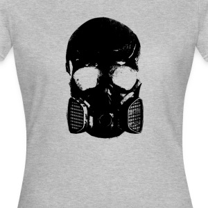 anti gas skull - Women's T-Shirt