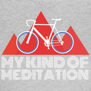 Road Mountain Meditation - Dame-T-shirt