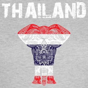 Nation design Thailand Elephant - Dame-T-shirt