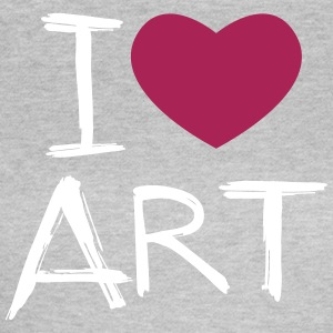I love Art - Women's T-Shirt