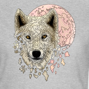 Wolf white - Women's T-Shirt