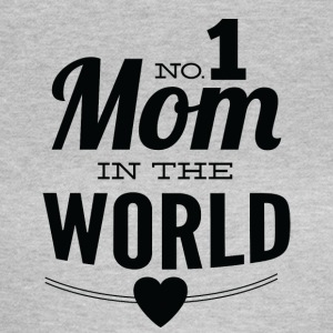 number 1 mom in the world white - Women's T-Shirt