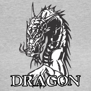 agry zoek dragon wit - Vrouwen T-shirt