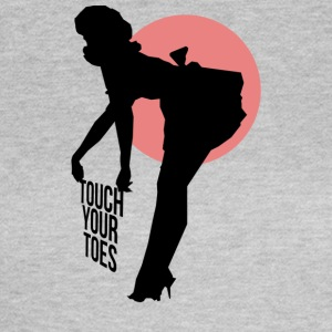 Vintage Girl - Touch Your Toes! - Women's T-Shirt
