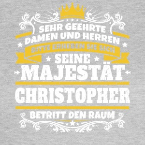 Hans Majestät Christopher - T-shirt dam