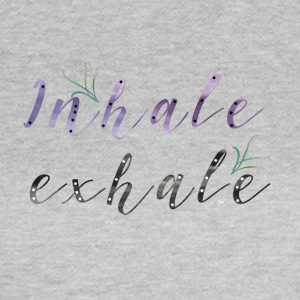 Inhale Exhale - T-shirt dam