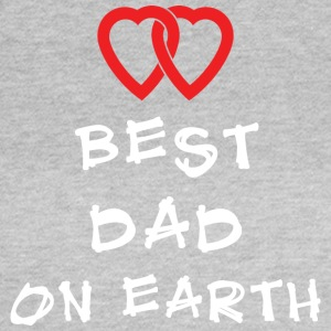 Best Dad On Earth - Dame-T-shirt